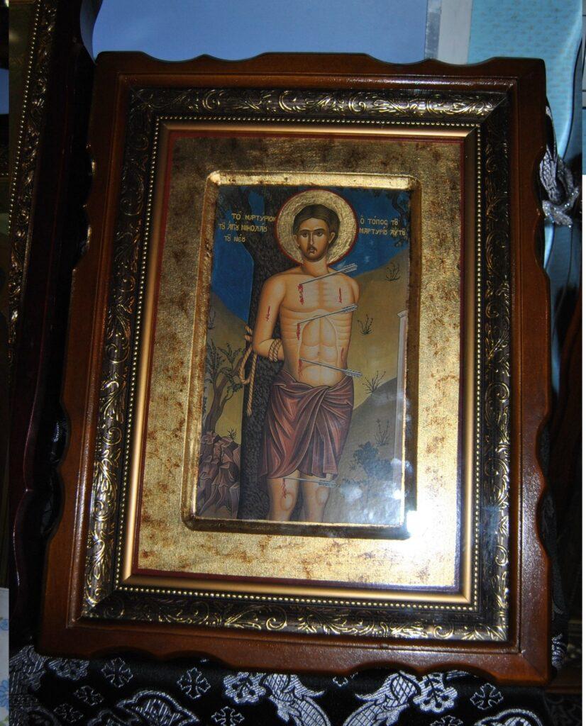 Икона святого преподобномученика Николая (Вуненского)