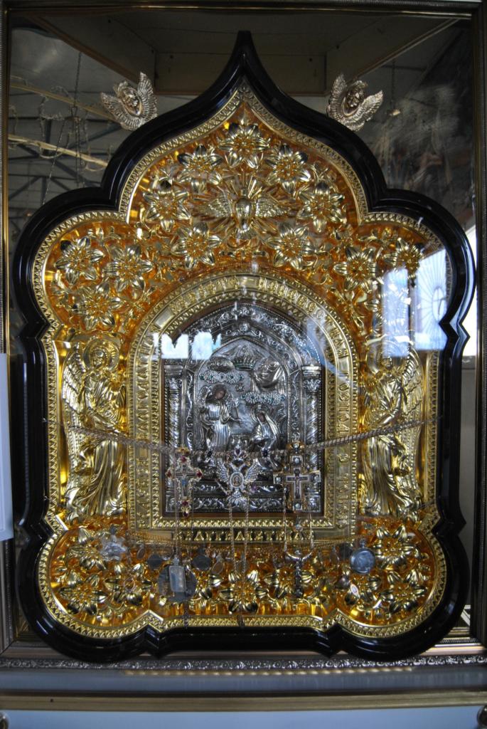 Икона Благовещения Пресвятой Богородицы «Тиносская»